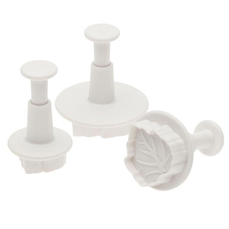 Leaf Plunger Cutter - Set of Three