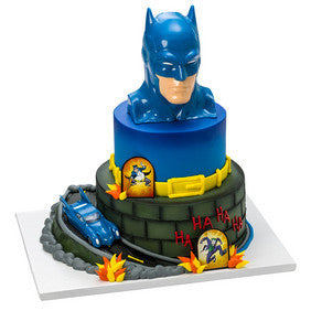 Batman to the Rescue Cake Topper