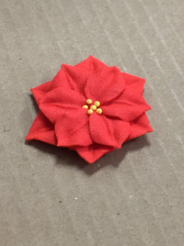 Large Poinsettia - Royal Icing
