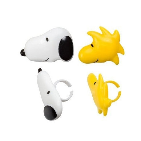 Peanuts® Snoopy and Woodstock Cupcake Rings