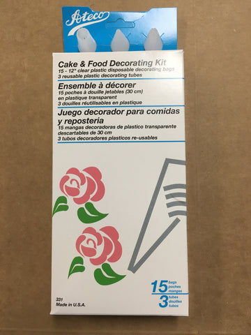 Cake & Food Decorating Kit