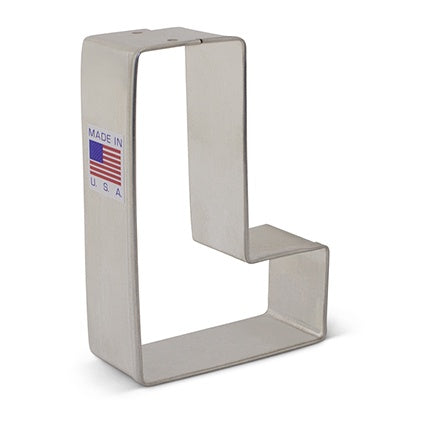 Letter L Cookie Cutter 3 1/4""