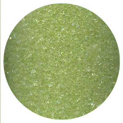 Lime Green Crystal Sugar