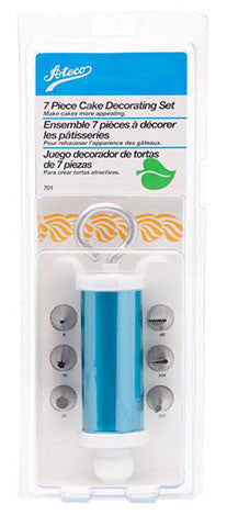 7pc Decorating Set with Syringe