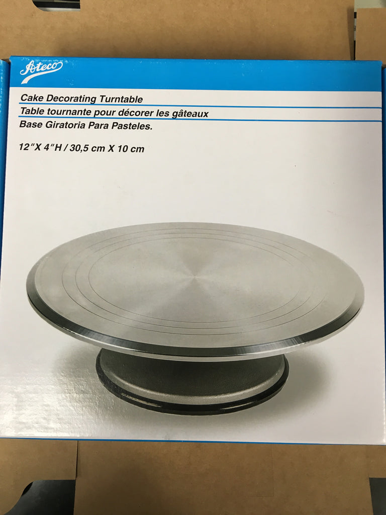 Ateco Cake Decorating Turntable 12""