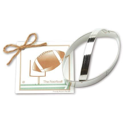 Football Cookie Cutter - Traditional 5""
