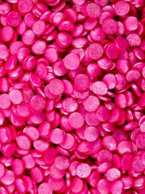 Pink Confetti Shimmered Decorating Candies - .85 oz