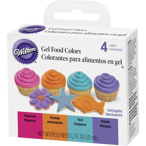 Bright Gel Food Color Set