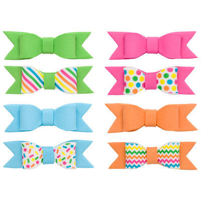 Gum Paste Bow - Mini Bright Colors