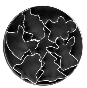 Christmas Holiday Pie Cutter Set