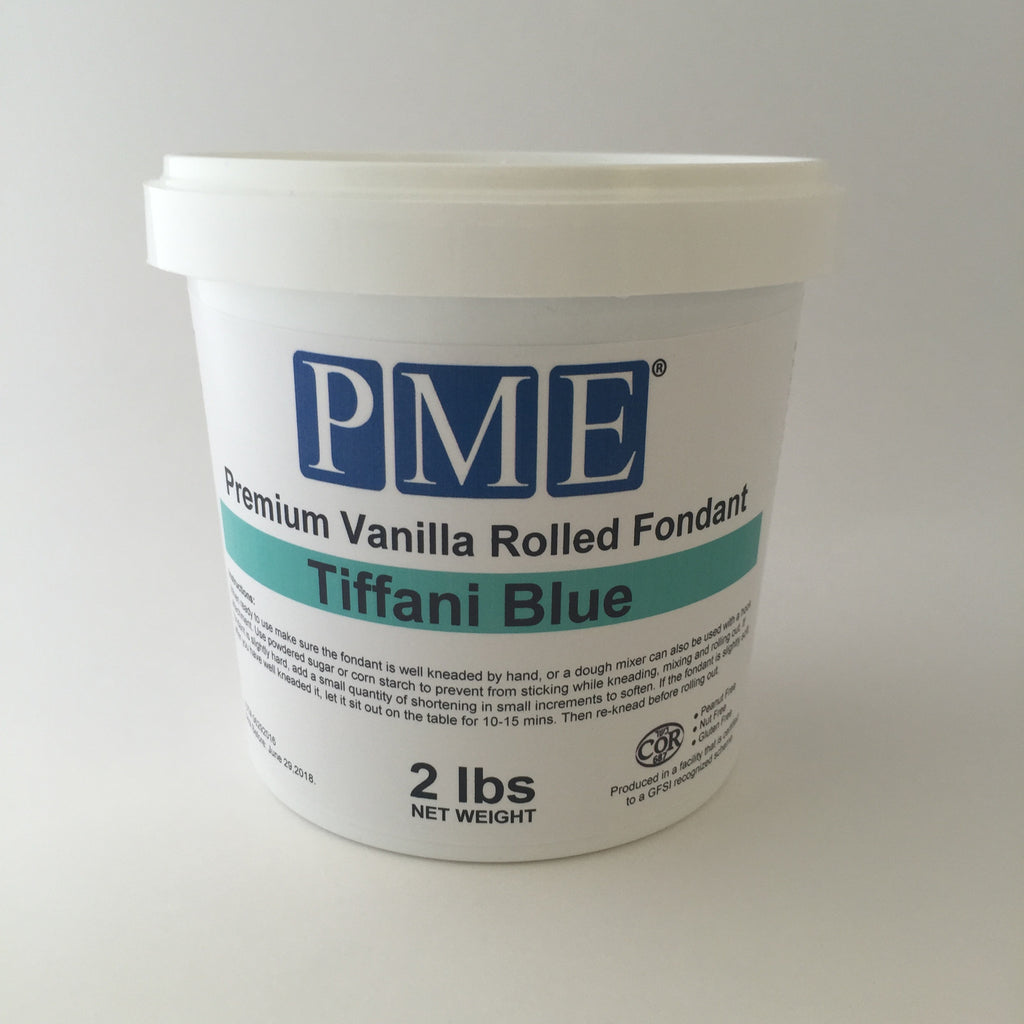 PME Tiffani Blue Fondant