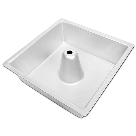 "FD Angel Food Pan Square Square 10"" x 3.5"""