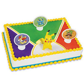 Pokemon Light Up Pikachu Cake Kit