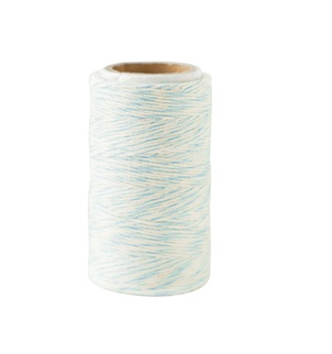 Blue craft twine