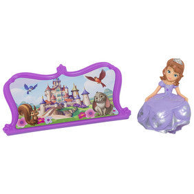 Sofia the First Sofia and Castle Cake Topper