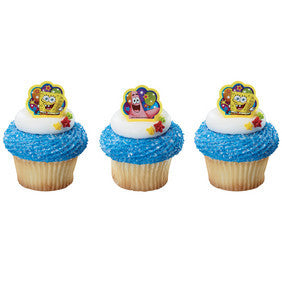 Spongebob Ballon Cupcake Rings
