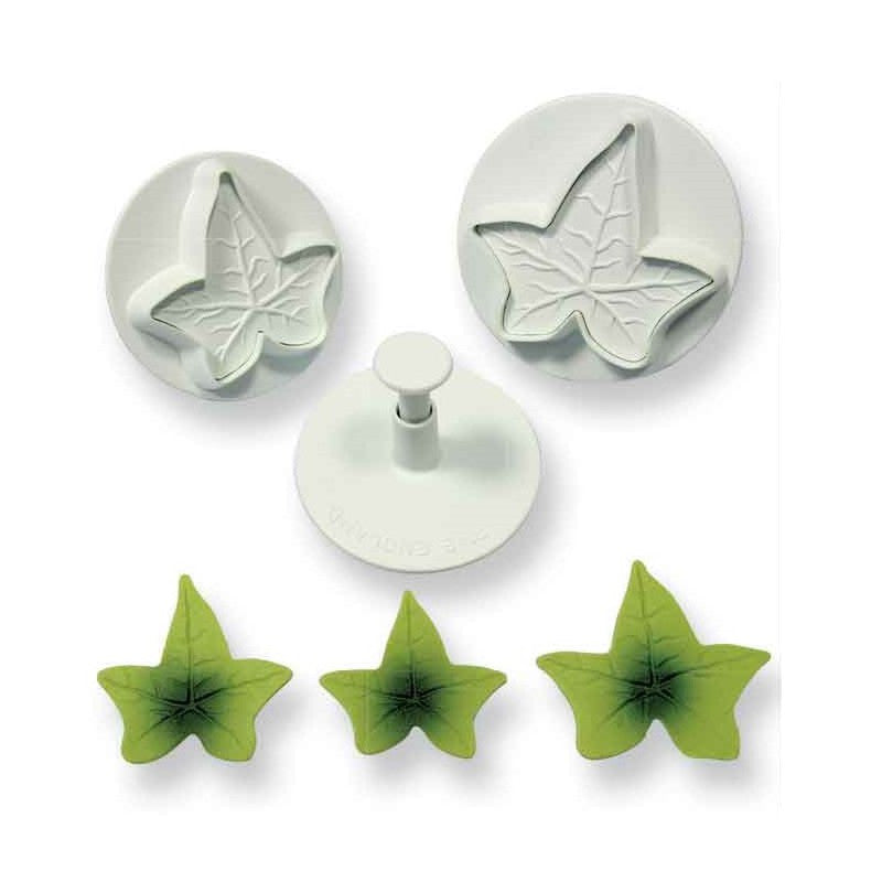 PME Veined Ivy Leafy Plunger Cutter Set