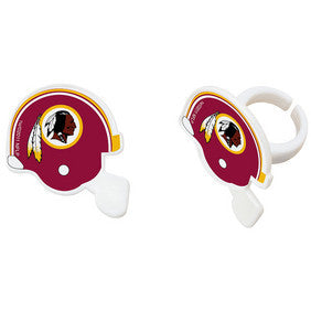 Washington Redskins Cupcake Rings