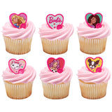 Barbie - Be the future- Cupcake Rings