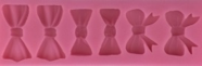 Assorted Bow and Bow Tie Fondant Mold