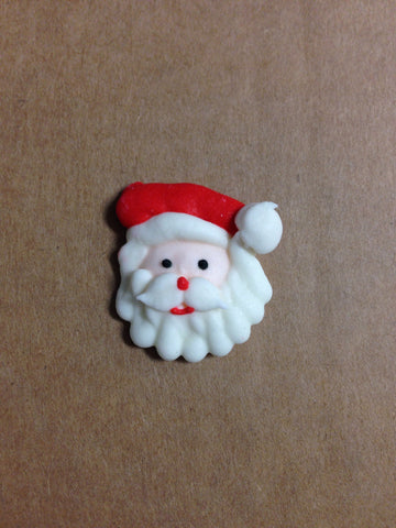 Large Santa Face - Royal Icing