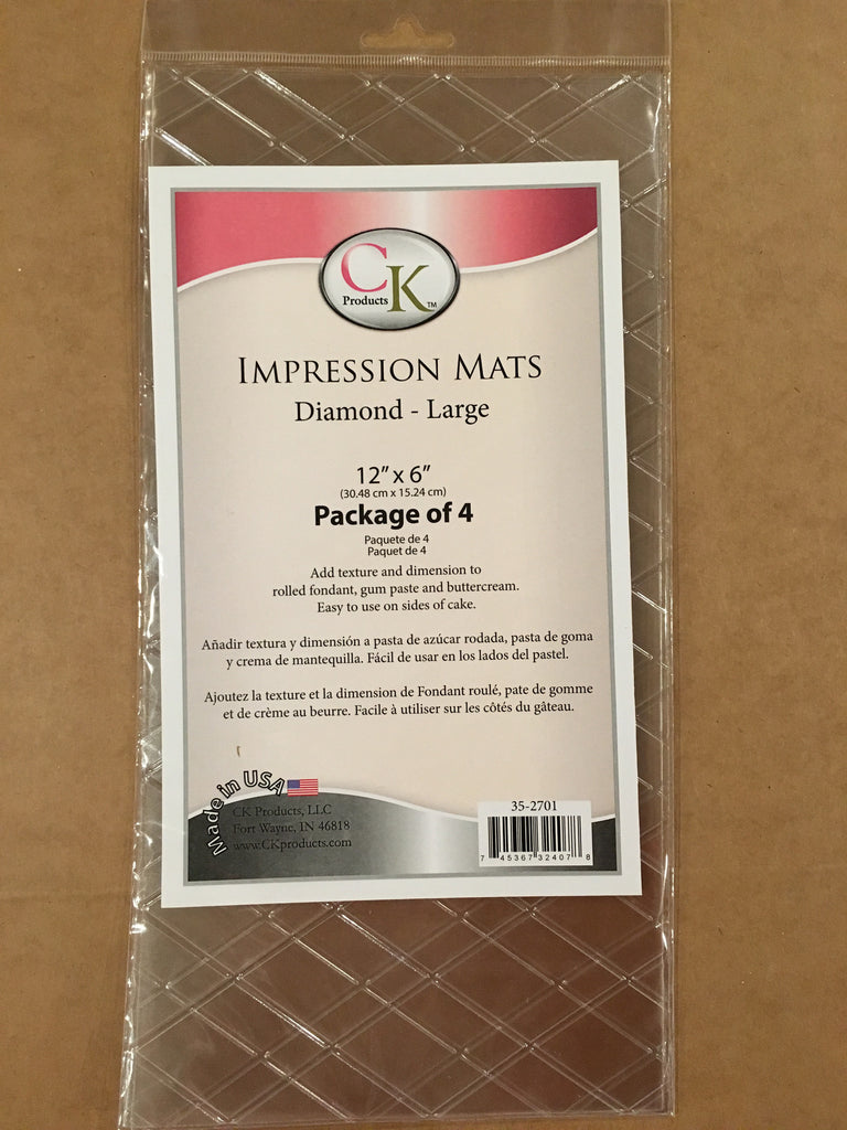 CK Impression mats large diamond