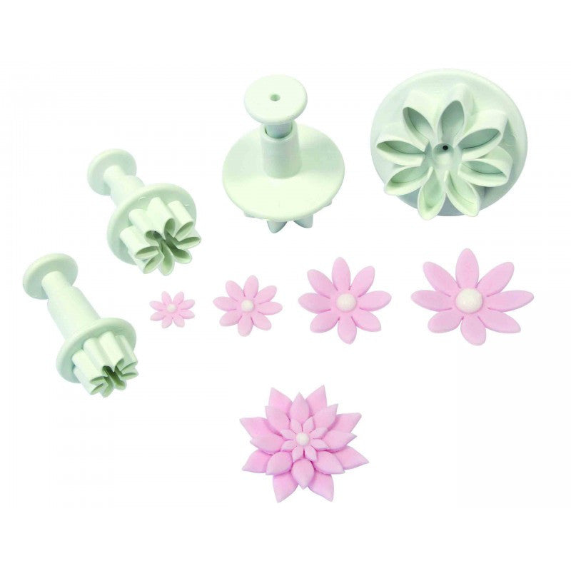 PME Daisy/Marguerits Plunger Cutter Set