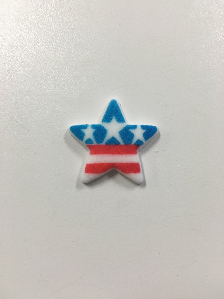 Sugar Star with Stars and Stripes