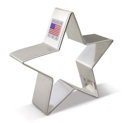 Star Cookie Cutter 3 3/8""