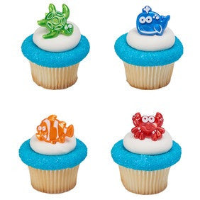 Beach Cuties Cupcake Rings