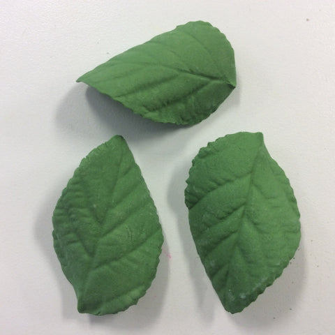 Gum Paste Leaves - Green