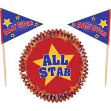 All Star Baking Cups