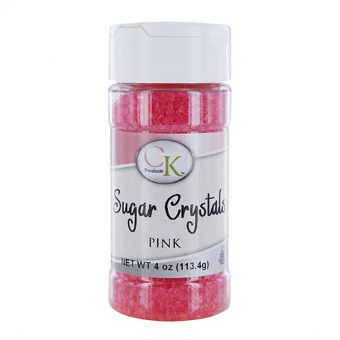 Pink Crystal Sugar