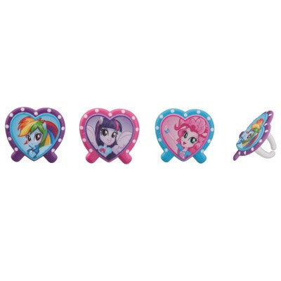 Equestria Girls Cupcake Rings