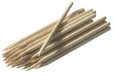 Wooden Pointed Sticks 7""