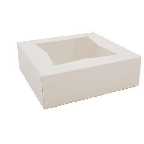 8x8x2.5. Window Pie Box