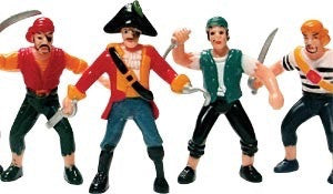 Pirate Cake Toppers 2
