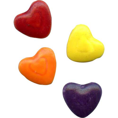 Candy Shapes Crazy Hearts