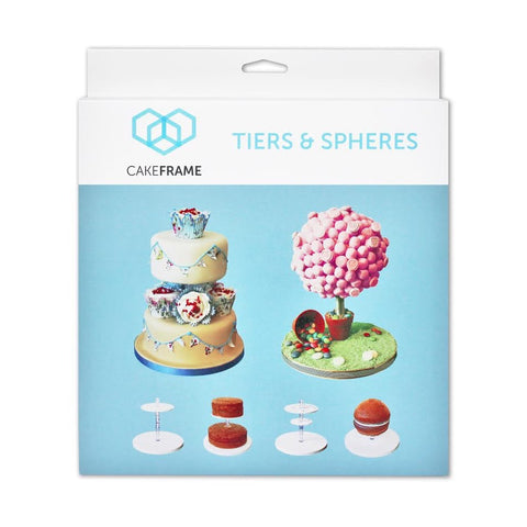 Cake Frame Tiers and Spheres