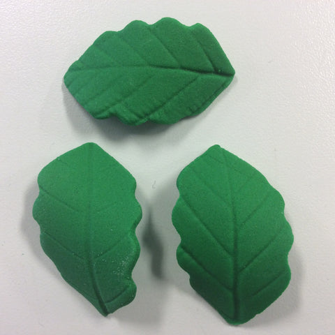 Gum Paste Holly Leaf Medium - Green