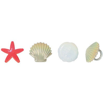 Sea Shell Cupcake Rings