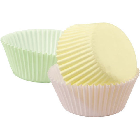 Assorted Pastel Mini Baking Cups