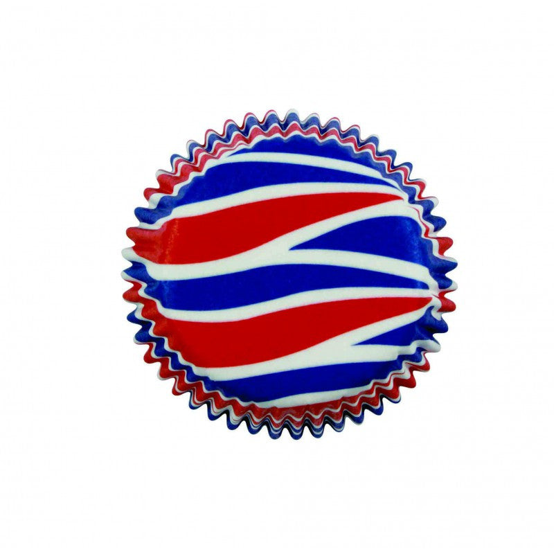 Patriotic Swirls Backing Cups