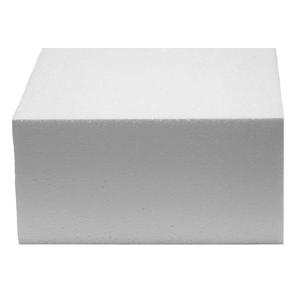 "Square Cake Dummies 4"" Deep"
