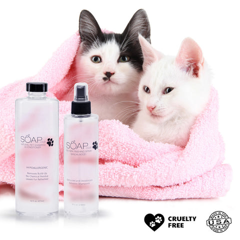 Pet Spa Natural Shampoo Conditioner and Sandalwood Finishing Spray