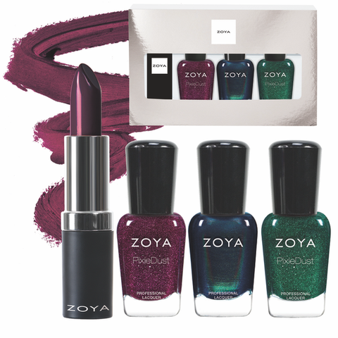 Zoya Midnight Dreams Lips and Tips Quad
