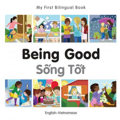My First Bilingual Book Being Good