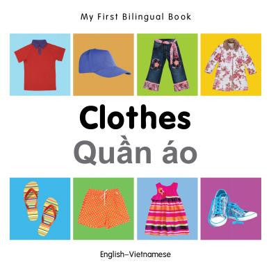 My First Bilingual Book Clothes