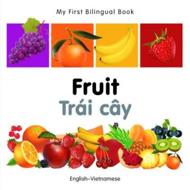 My First Bilingual Book Fruit