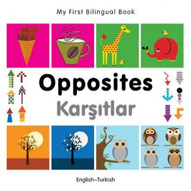 My First Bilingual Book Opposites